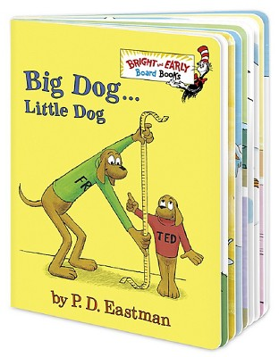Big Dog Little Dog by P.D. Eastman (Board Book)