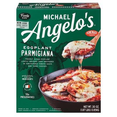 Michael Angelo's Frozen Eggplant Parmigiana - 30oz