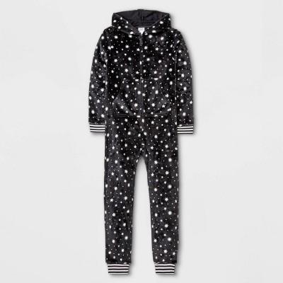 Girls' Stars Union Suit - art class™ Black
