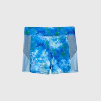 Girls' Galaxy Gymnastics Shorts - More Than Magic™ Blue
