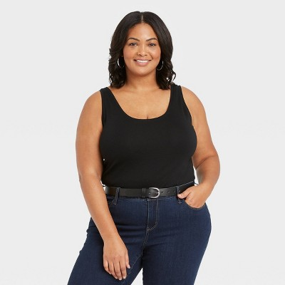 Women's Plus Size Tank Top - Ava & Viv™