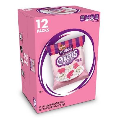 Mother's Cookies Original On The Go Circus Animal Cookies - 12pk