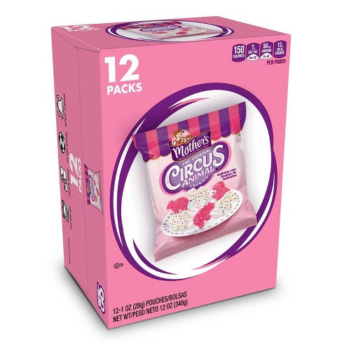 Mother's Cookies Original On The Go Circus Animal Cookies - 12pk - image 1 of 4