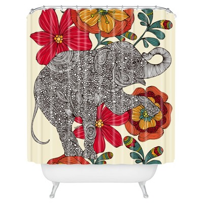 Valentina Ramos Clementine Shower Curtain - Deny Designs