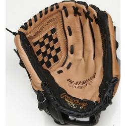 "Rawlings T Ball 10.5"" Glove - Brown/Black"