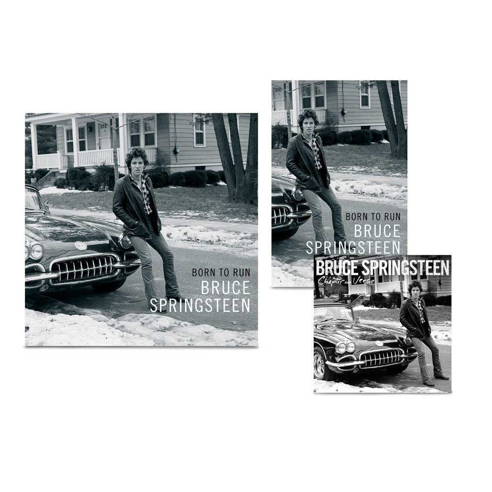 Bruce Springsteen - Born To Run (Bundle: LP + Audio Book + Book)