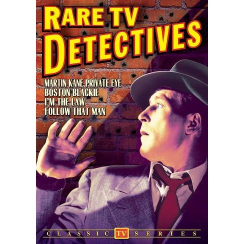 Rare Tv Detectives (Dvd) (B&w/1852) (DVD)