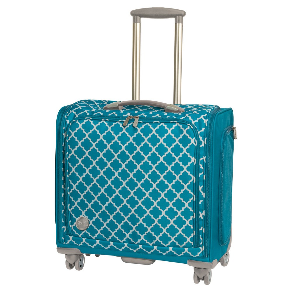 Image of 360 Crafter's Rolling Bag - Aqua