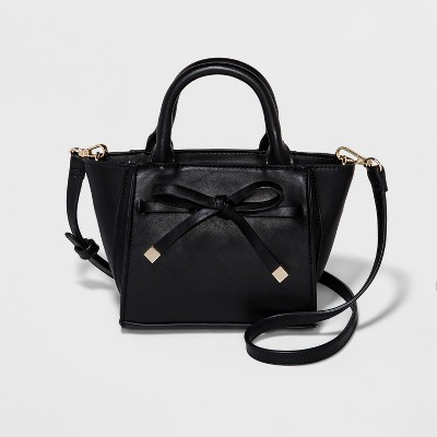 a68910065f Mini With Bow Crossbody Bag – A New Day™ Black – Target Inventory ...