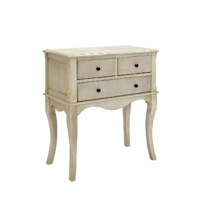 Mashal Storage Drawers Hallway Cabinet Antique White - HOMES: Inside + Out