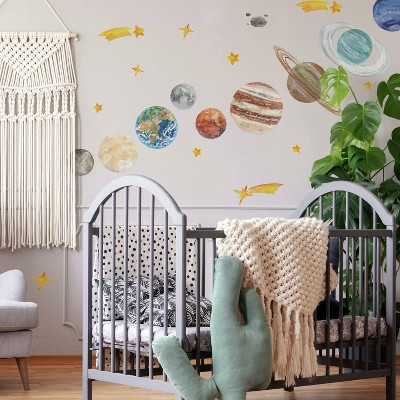 Planets Peel and Stick Giant Wall Decal - RoomMates