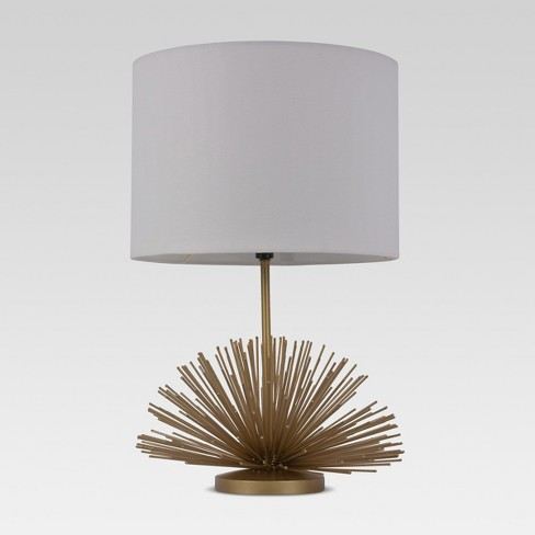 Urchin Figural Accent Lamp Brass - Project 62™ - image 1 of 2