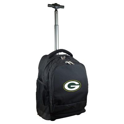 NFL Mojo Premium Wheeled Backpack - Black