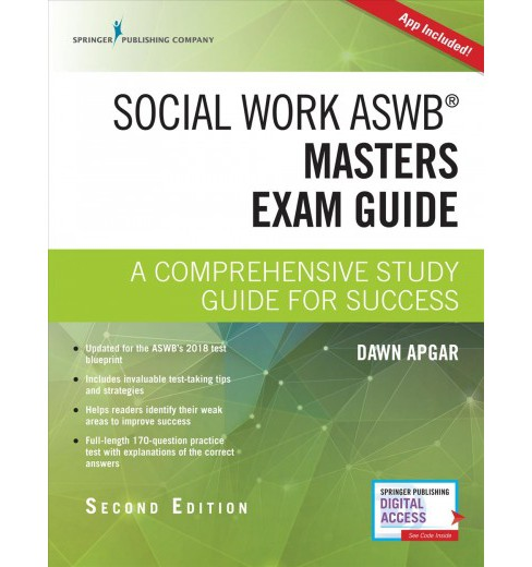 Social Work ASWB Masters Exam Guide : A Comprehensive Study Guide for Success (Paperback) (Ph.D. Dawn - image 1 of 1