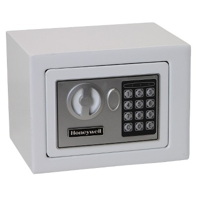 0.17 Cu. Ft. Steel Security Safe - White