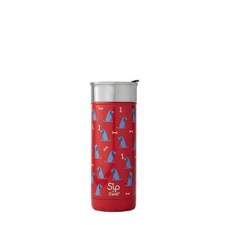 Sip by Swell 16oz Stainless Steel Portable Drinkware Red