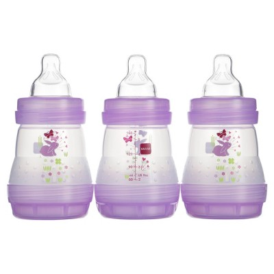MAM Anti-Colic Bottle, 5oz, 3ct