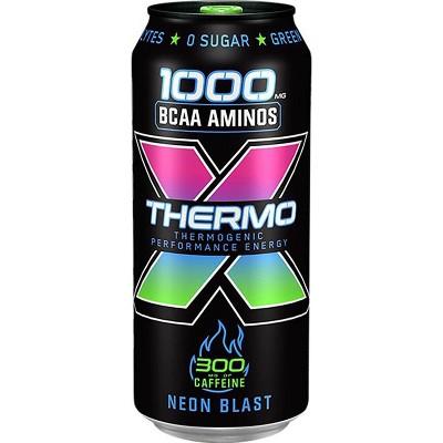 Rockstar Thermo Neon Blast Energy Drink - 16 fl oz Can