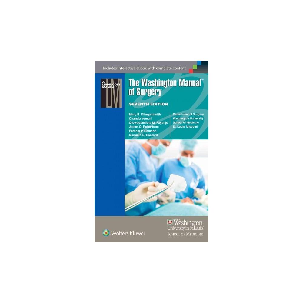 Washington Manual of Surgery (Paperback)