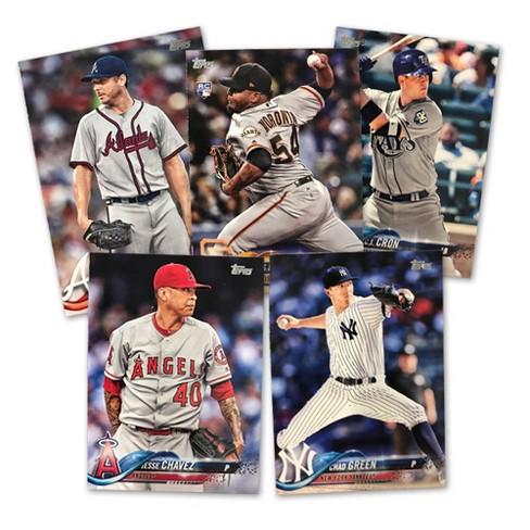 2018 Topps Mlb Baseball Completed Trading Card Game Set