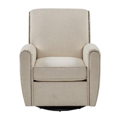 Delicieux Vestal Swivel Glider Chair Cream