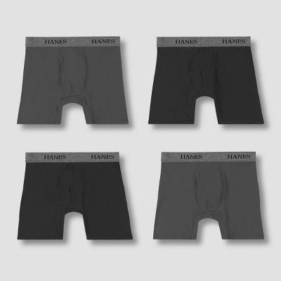 Hanes Premium Men's Stretch Boxer Briefs 4pk