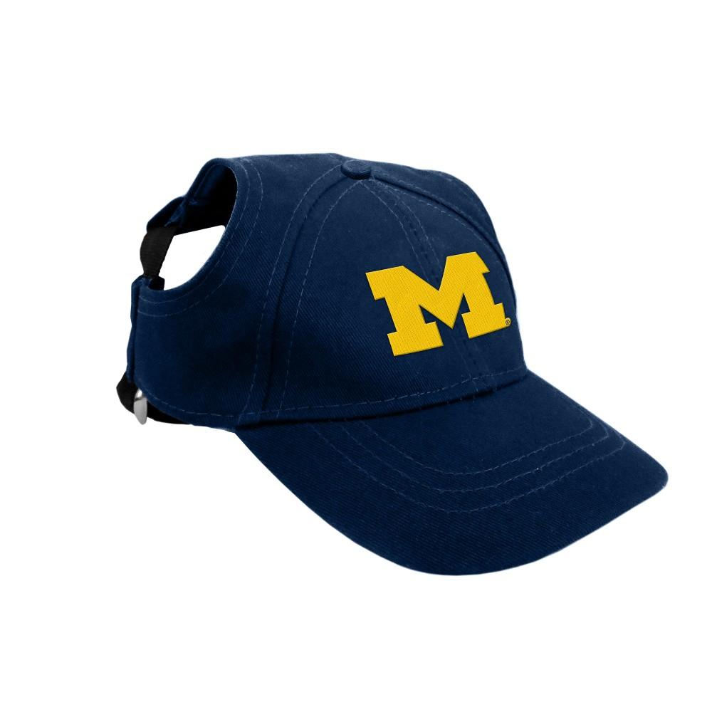 Michigan Wolverines Little Earth Pet Baseball Hat S