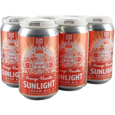 Sun King Orange Vanilla Sunlight Cream Ale Beer - 6pk/12 fl oz Cans