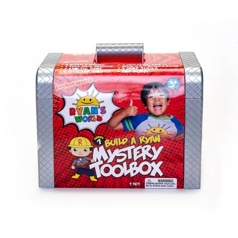 Ryan's World Mystery Toolbox - image 1 of 4