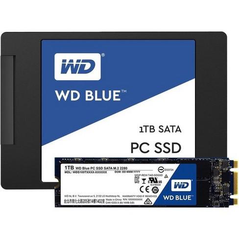 WD-IMSourcing Blue WDS250G1B0B 250 GB Solid State Drive - M.2 2280 Internal - SATA (SATA/600) - 540 MB/s Maximum Read Transfer Rate - image 1 of 2