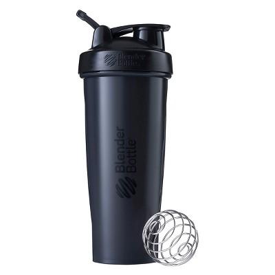 BlenderBottle Classic Shaker Bottle - 32oz Shaker Cup - Black