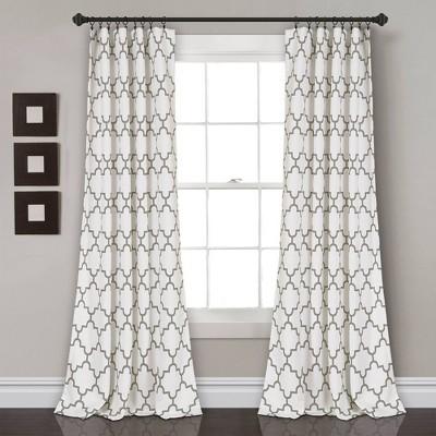 Bellagio Room Darkening Window Curtain Panels - Lush Décor