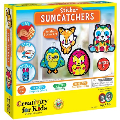 Creativity for Kids Sticker Suncatchers Craft Kit