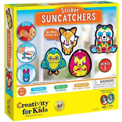 Creativity for Kids Sticker Suncatchers Craft Kit - image 1 of 4