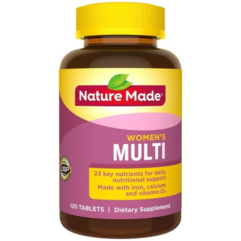 Nature Made Women's Multivitamin Tablets - 120ct : Target