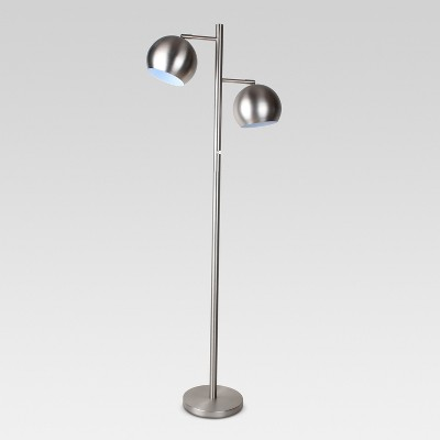 Modern Globe Multi-Head Downbridge Floor Lamp (Includes CFL Bulb)- Project 62™