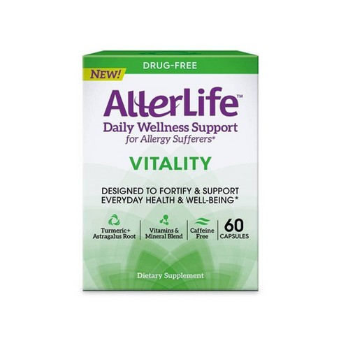 AllerLife Vitality Support Capsule - 60ct - image 1 of 4