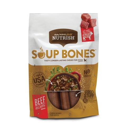 Rachael Ray Nutrish Soup Bones Dog Treats - Beef & Barley - 23.1oz - image 1 of 4