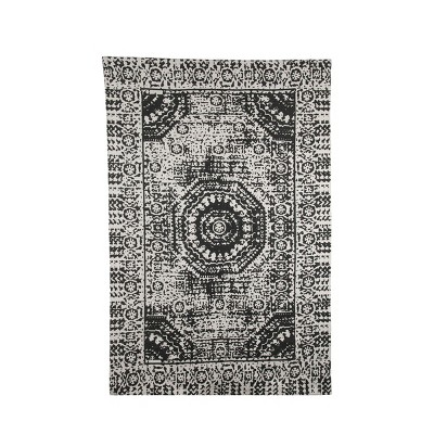 4'x6' Rectangle Accent Rug Multicolored - Foreside Home & Garden