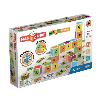 Geomag Magicube Math Building Magnetic Building Set 61pc