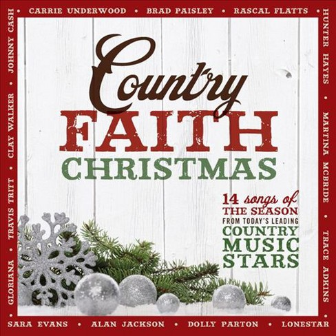 Various - Country Faith Christmas (CD) - image 1 of 1