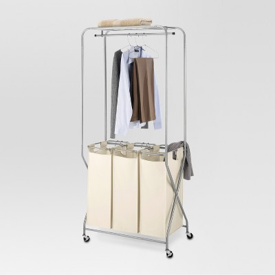 Laundry Station with Triple Sorter Bags - Threshold™