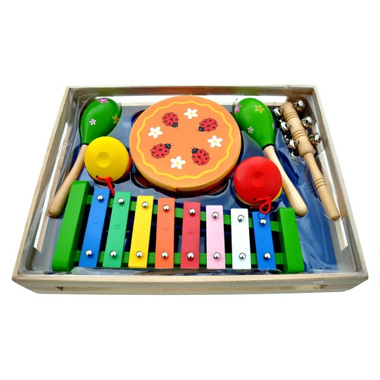 Schoenhut Band-in-a-Box Play Set image number null