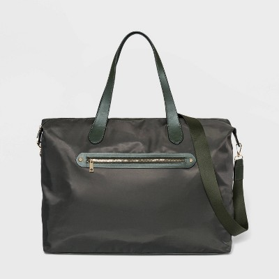 Zip Closure Weekender Bag - A New Day™ Green