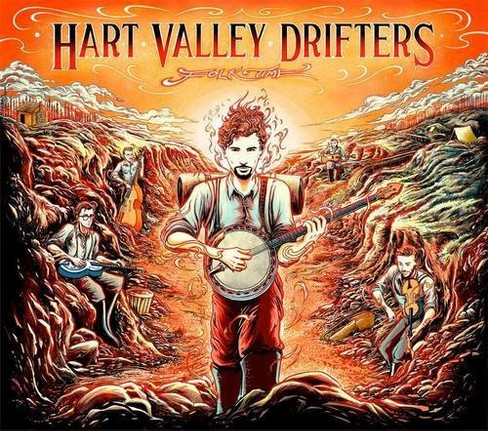 Hart Valley Drifters - Folk Time (CD) - image 1 of 1