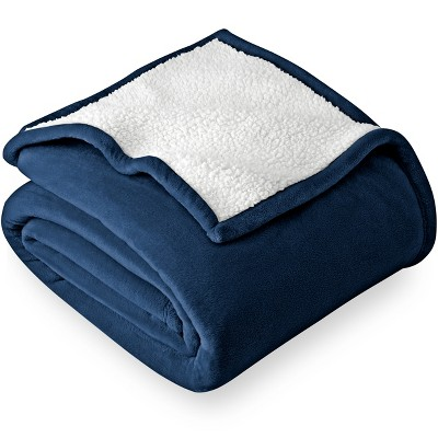 Bare Home Sherpa Fleece Blanket