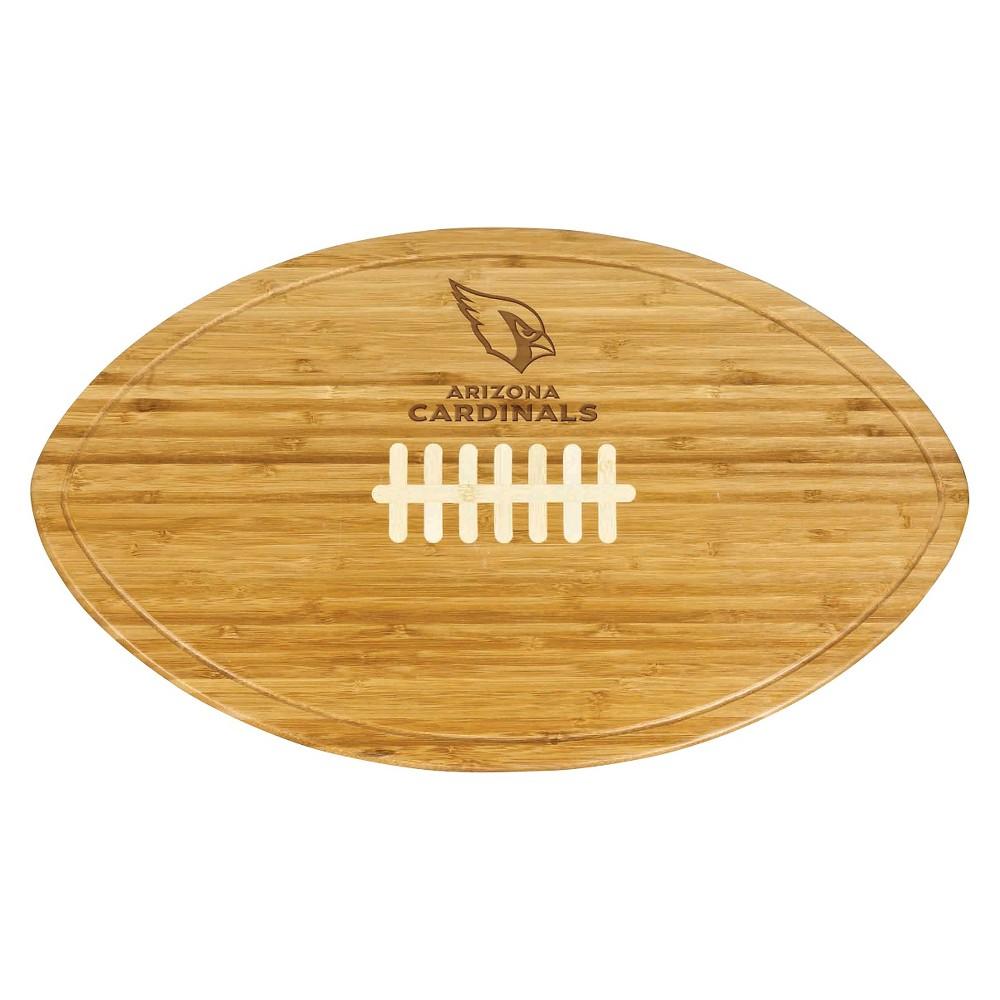 Arizona Cardinals - Kickoff Bamboo Cutting Board/Serving Tray by Picnic Time