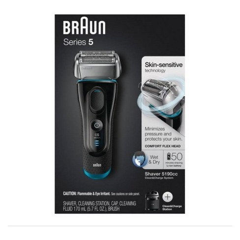 Braun Series 5 5190cc Clean Charge System Men S Electric Shaver
