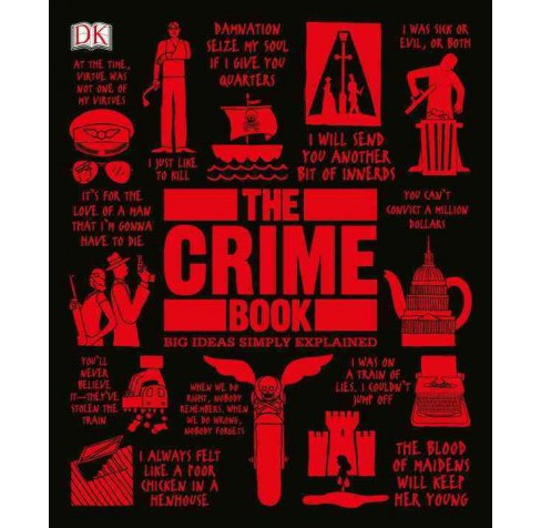 Crime Book : Big Ideas Simply Explained -  (Big Ideas Simply Explained) (Hardcover) - image 1 of 1