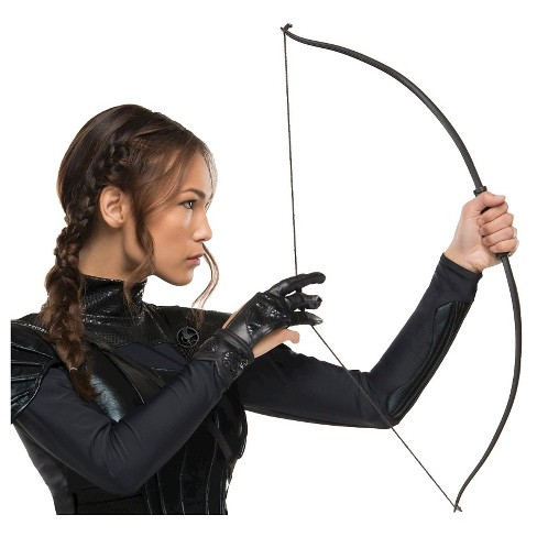 Mockingjay Part 1 Women's Katniss Archery Glove Black One Size - image 1 of 1